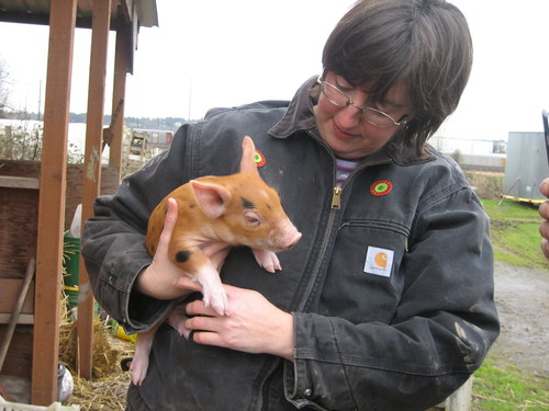Shelly and Piglet